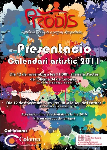 Cartell Calendari 2011